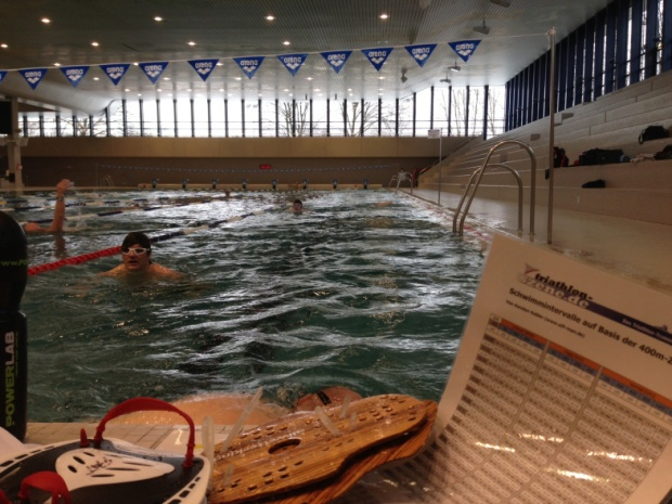 Schwimmtest HaBa Oerlikon